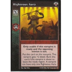Righteous Aura Cartes Vampire The Eternal Struggle - VTES