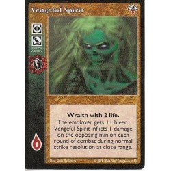 VO Vengeful Spirit Cartes Vampire The Eternal Struggle - VTES