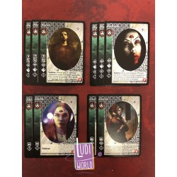 VO Lot 10 Vampire SALUBRI ANTITRIBU - Lost Kindred - Vampire The Eternal Struggle - VTES