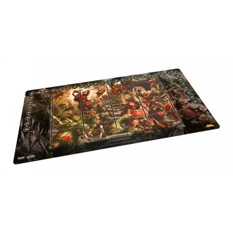 Play-Mat Order: Chaos vs. Destruction 64 x 35 cm - Warhammer Age of Sigmar: Champions