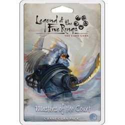 Masters of the Court - Grue Clan Pack - Legend of the five Rins LCG