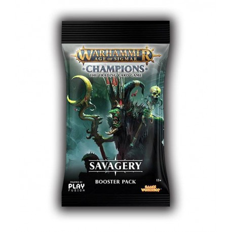 8 Boosters de 13 Cartes Savagery - Warhammer Age of Sigmar: Champions