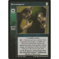 Decompose - Heirs to The Blood - Vampire The Eternal Struggle - VTES