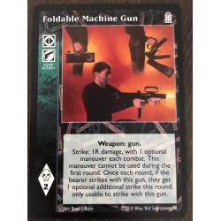 Foldable Machine Gun - Heirs to The Blood - Vampire The Eternal Struggle - VTES