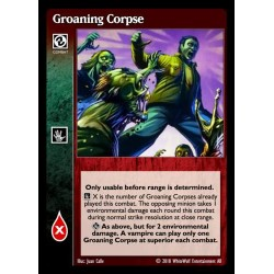 VO Groaning Corpse - Heirs to The Blood - Vampire The Eternal Struggle - VTES
