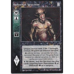 Infernal Servitor - Heirs to The Blood - Vampire The Eternal Struggle - VTES