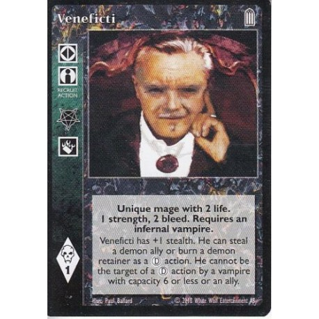 Veneficti - Heirs to The Blood - Vampire The Eternal Struggle - VTES