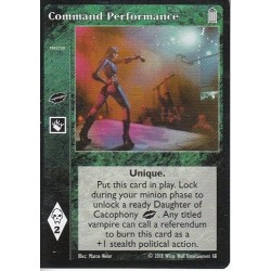 Command Performance - Heirs to The Blood - Vampire The Eternal Struggle - VTES