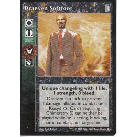 Draeven Softfoot - Heirs to The Blood - Vampire The Eternal Struggle - VTES