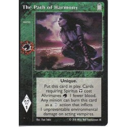 Path of Harmony, The - Heirs to The Blood - Vampire The Eternal Struggle - VTES