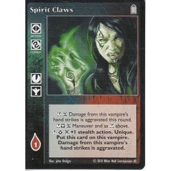 Spirit Claws - Heirs to The Blood - Vampire The Eternal Struggle - VTES