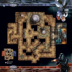 Assaut sur l'empire - Tapis de jeu - Lothal Wastes Skirmish Map