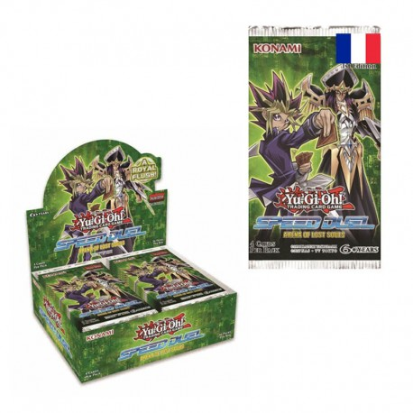 12 Boosters Speed DUEL l'Arène des Âmes Perdues -YU-GI-OH !