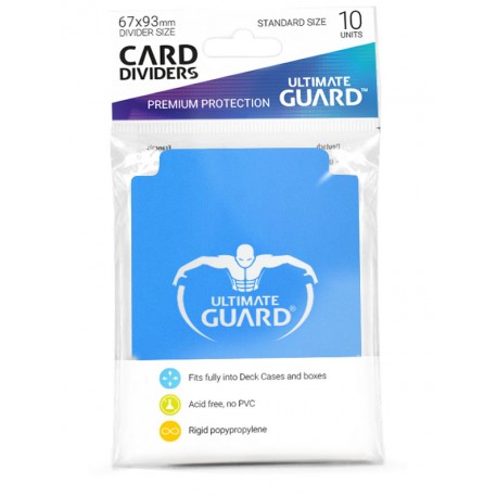 Séparateurs de Cartes Ultimate Guard Bleu