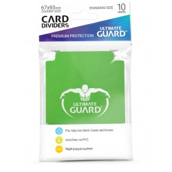 Séparateurs de Cartes Ultimate Guard Vert
