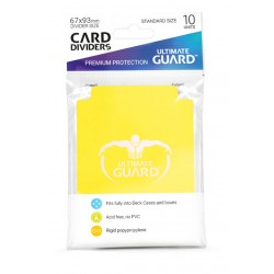 Séparateurs de Cartes Ultimate Guard Jaune