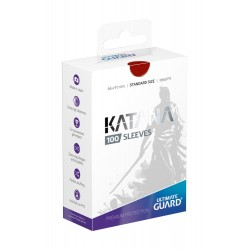 100 pochettes Ultimate Guard Katana Sleeves taille standard Rouge