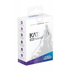 100 pochettes Ultimate Guard Katana Sleeves taille standard Blanc