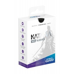 100 pochettes Ultimate Guard Katana Sleeves taille standard Noir