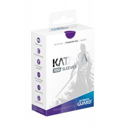 100 pochettes Ultimate Guard Katana Sleeves taille standard Violet