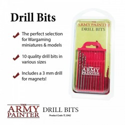 10 Forets Army Painter - Drill Bits