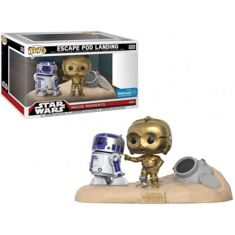 Twin Peaks POP ! Star Wars: Movie Moments: R2-D2 & C-3PO Desert