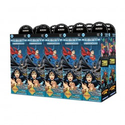 Demi brick de 5 Boosters de 5 figurines DC Comics HeroClix: DC Rebirth