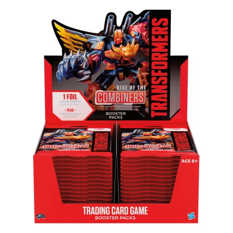 10 Boosters Rise of the Combiners - Transformers TCG