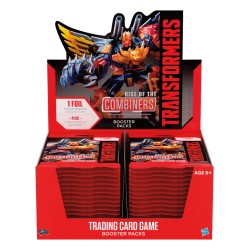 6 Boites de 30 Boosters Rise of the Combiners - Transformers TCG