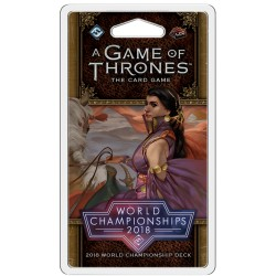 2018 A Game of Thrones: The Card Game World Champion Deck