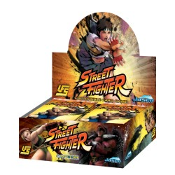 Boite de 24 Boosters UFS - Street Fighter CCG