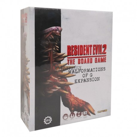 Resident Evil 2: The Board Game - Malformation of G