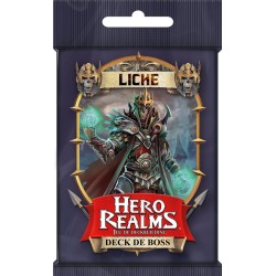 VF Deck de Boss LICHE Hero Realms Deckbuilding Game
