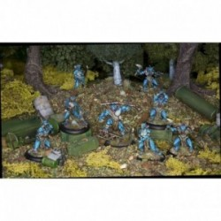 Achtung Cthulhu Skirmish - Deep Ones War Party unit pack