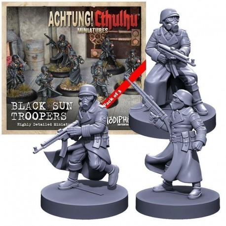 Achtung Cthulhu Miniatures - Black Sun Troopers