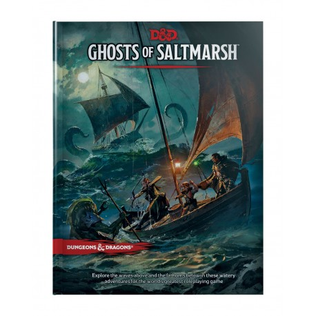 VO - Dungeons & Dragons RPG Adventure Ghosts of Saltmarsh