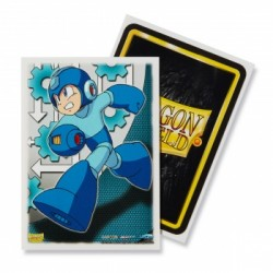 100 Protèges cartes Dragon Shield Illustrés Mega Man Standard