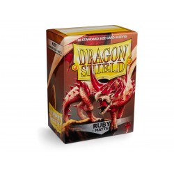 Protèges cartes Dragon Shield Matte Ruby 'Rubis'