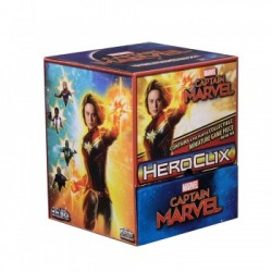 Gravity Feed de 24 Boosters Marvel HeroClix: Captain Marvel Movie HeroClix