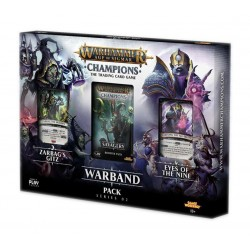 Warband Collectors Pack série 2 Warhammer Age of Sigmar : Champions