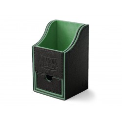 Deck Box 100 Cartes Dragon Shield Nest Box + black/green