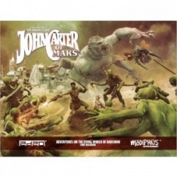 VO - John Carter of Mars: Core Rulebook