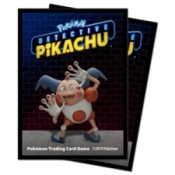 65 Protèges Cartes Pokemon - Detective Pikachu - Mr. Mime