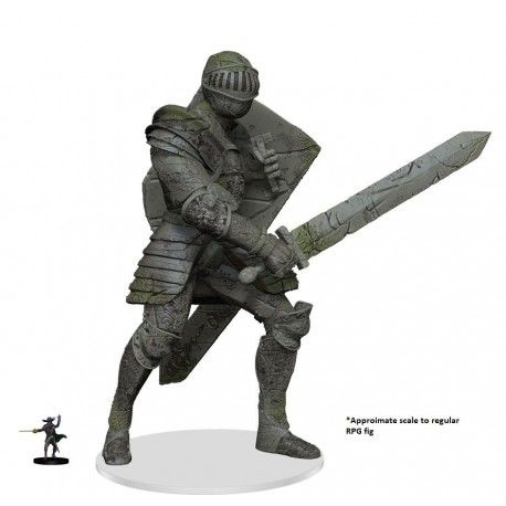 D&D Icons of the Realms Miniatures: Walking Statue of Waterdeep - The Honorable Knight