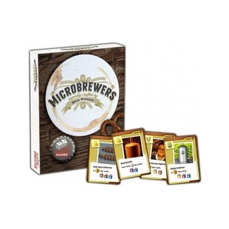 VO - Microbrewers: The Brewcrafters Travel Card Game