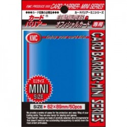 Sachet de 50 Protèges Cartes SMALL Blue