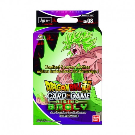 VF Starter 8 BROLY - DRAGON BALL SUPER CARD GAME