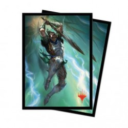 100 Protège-Cartes Magic The Gathering - War of the Spark V1