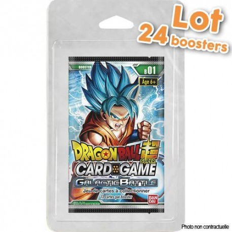 Booster de 8 Cartes Galactic Battle - Dragon Ball Super TCG