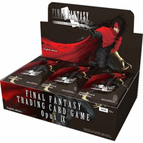VF 12 Boosters Final Fantasy TCG Opus 9